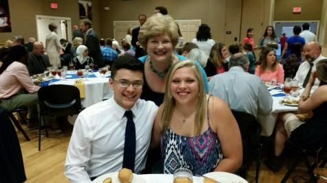 Reyes and Daniels win Rotary Youth Leadership Award