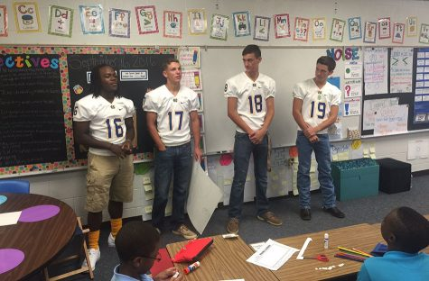 Varsity players visit Kissam
