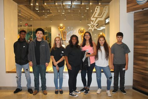 TAFE students see San Antonio, Spurs, and State Capitol