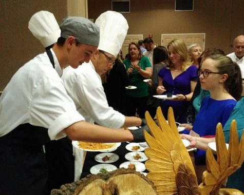 Local chef mentors at TheraPet fundraiser