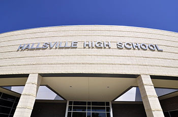Debaters represent in Hallsville