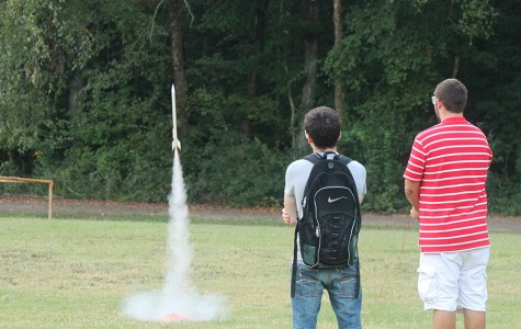 CTE Students Launch Rockets