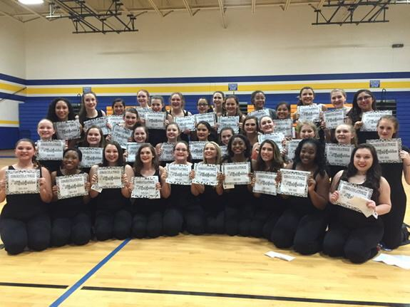 Highlighters Dance into 2015-2016 Drill Team