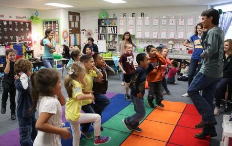 Students instruct Kissam kids
