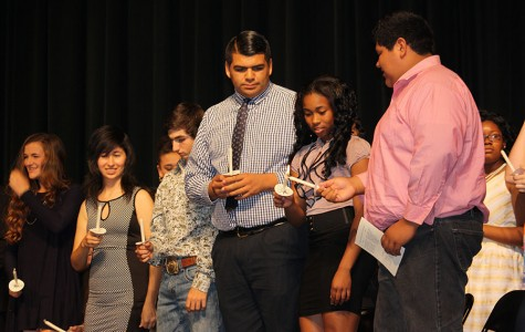 New NHS members inducted