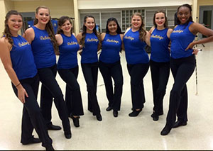Twirlers compete at UIL competition