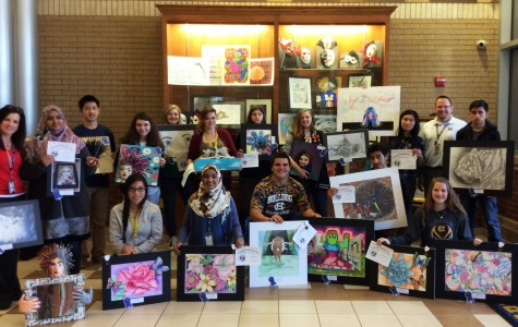 Vazia's art advances to State in VASE