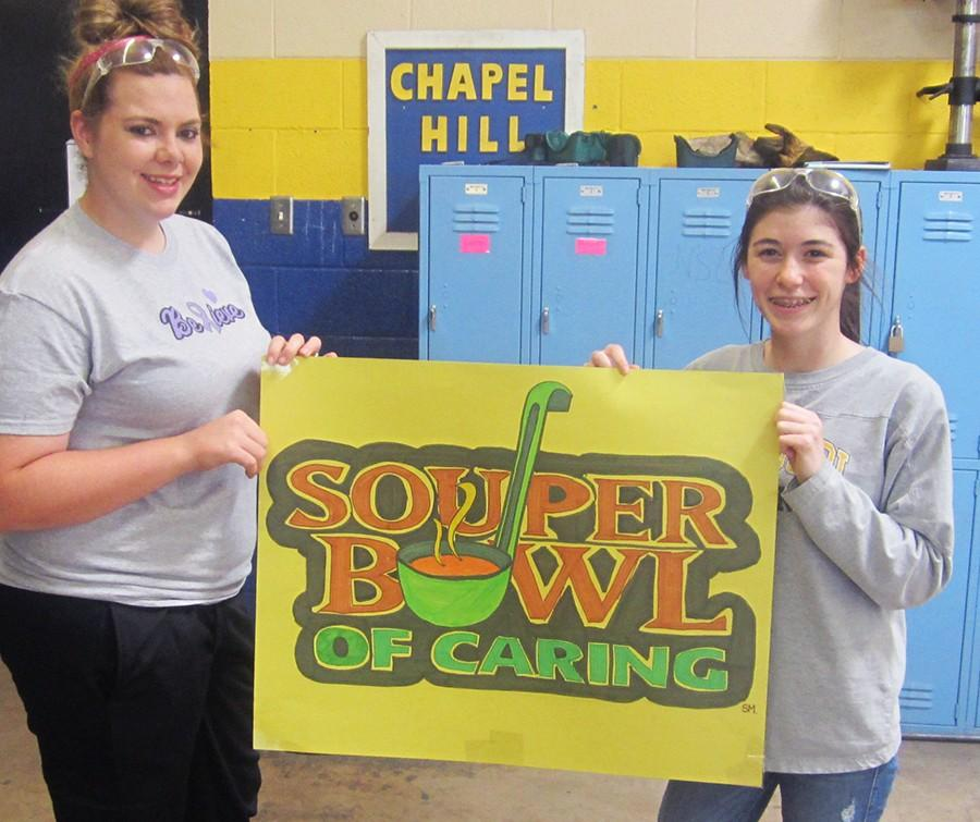 Students support 'Souper Bowl'