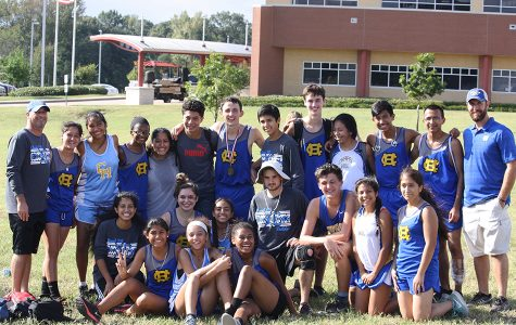 District runners dominate division