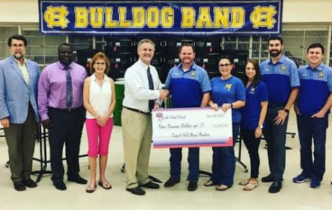 Band receives donation