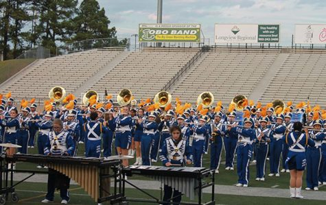 The band goes marching 1 by 1 by 1