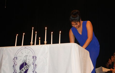Students inducted into NHS, NTHS