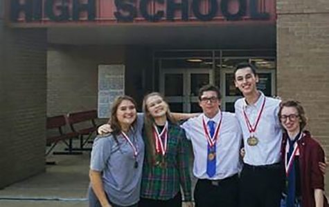 UIL debate team takes tournament