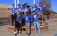Football players receive academic honors