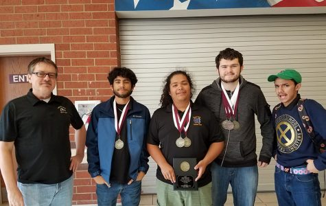 Students score six medals in Lindale meet
