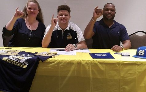 Kaine signs with Howard Payne University
