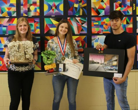 Ag students awarded at Junior Livestock Show