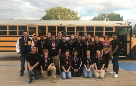 Academic UIL competes at District