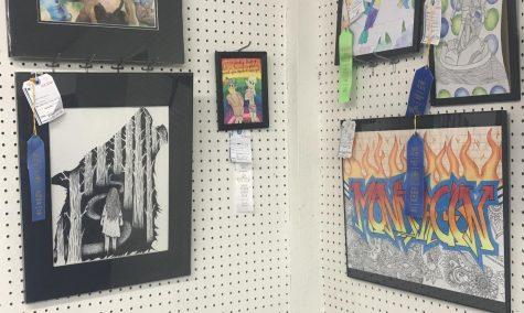 Art students flourish at the Fair