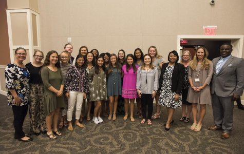 Student Senate learns to lead at luncheon