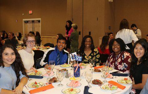 Honors graduates receive scholarships