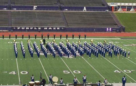 Marching Band makes history