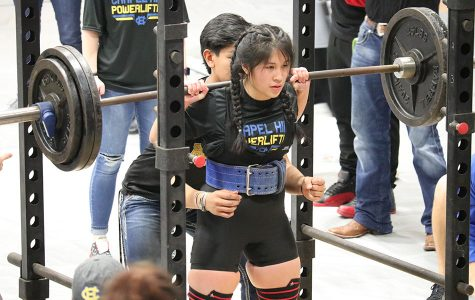Powerlifters place at home meet
