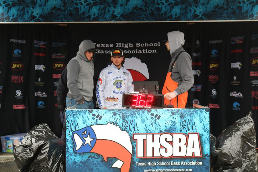 Bass Club teams 'weigh in' at tournament