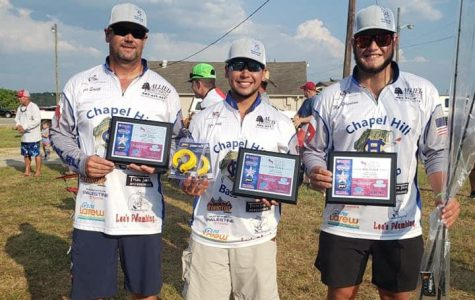 Bass Club takes second