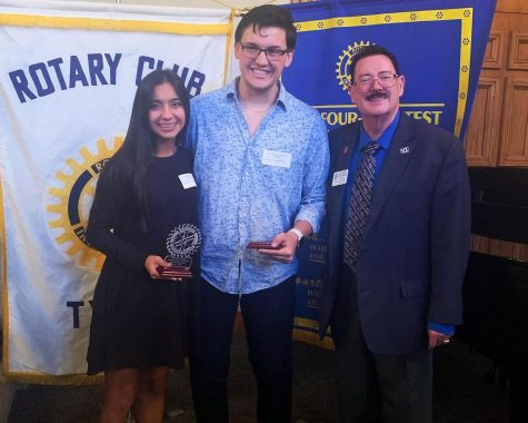Rotary seniors honored