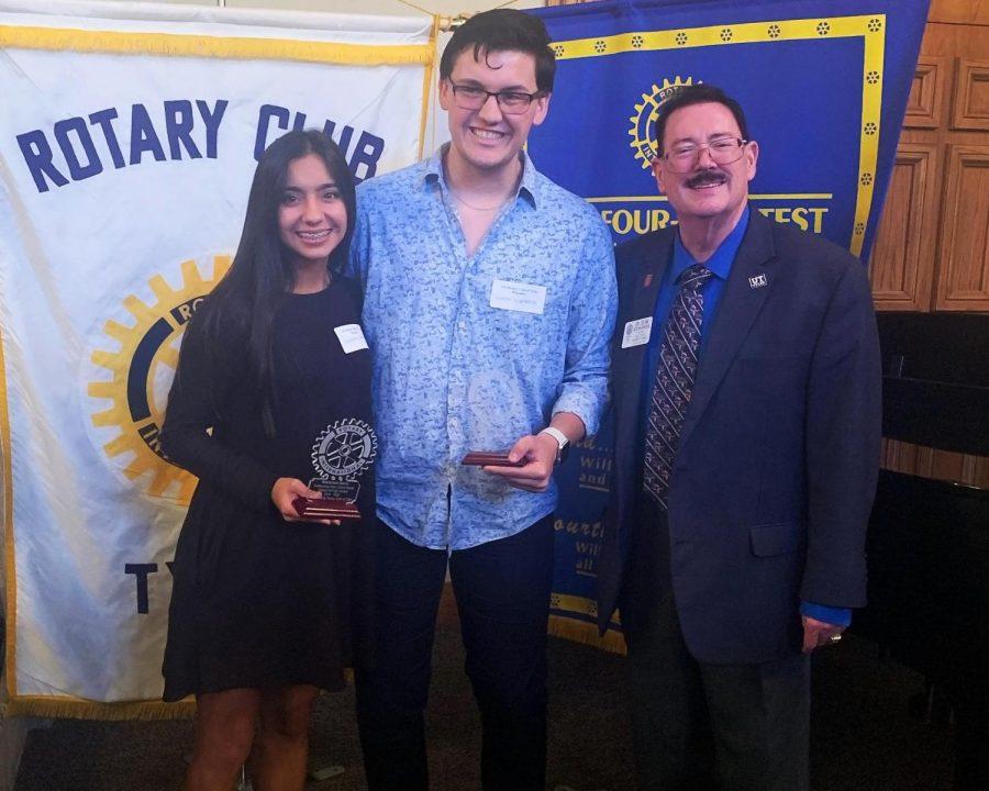 Rotary+seniors+honored