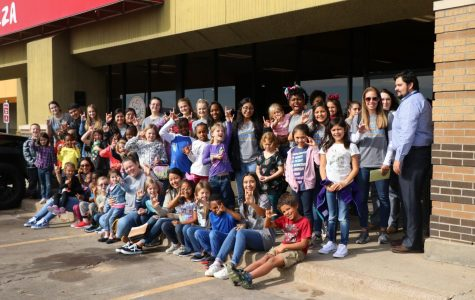 Student Senate gives back through Shoes for Kids