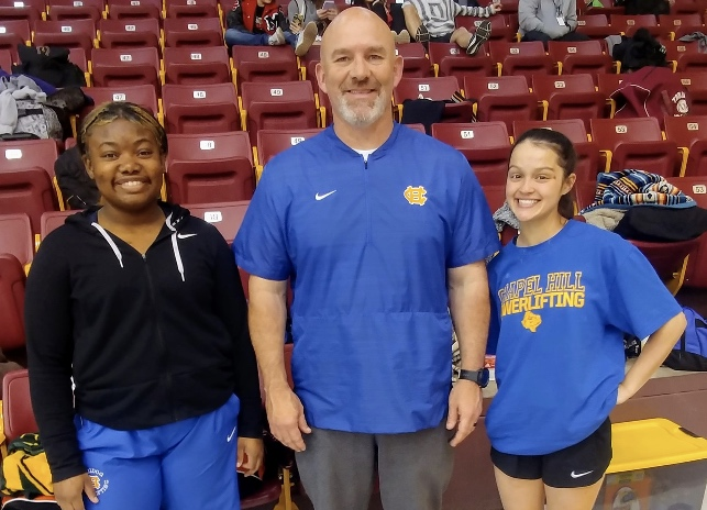 Powerlifters place at Regionals