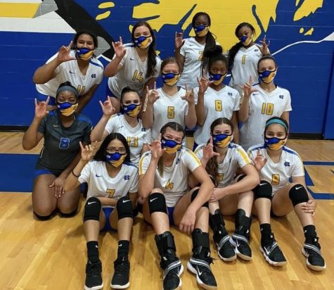 Volleyball conquers Knights