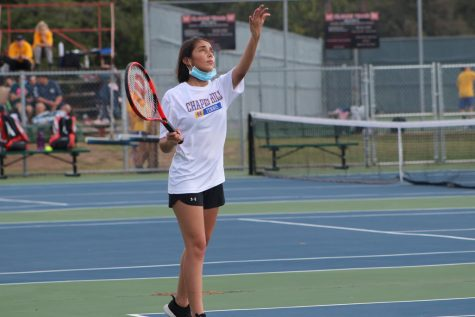 Tennis concludes fall season