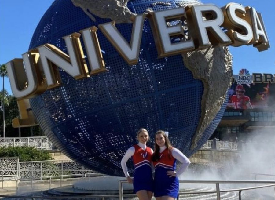 All-American Cheerleaders perform at Disney