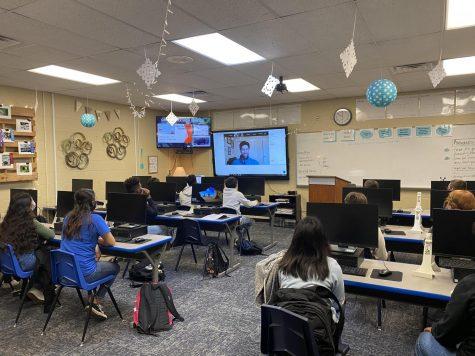 Students join career workshop
