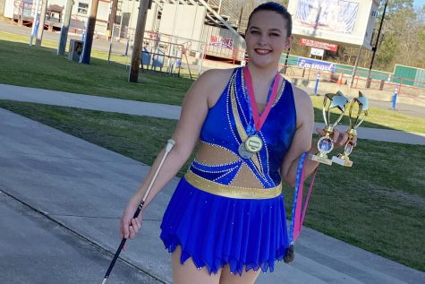 Winter Showcase features twirler
