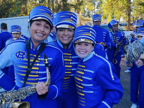 Marching Band advances to State